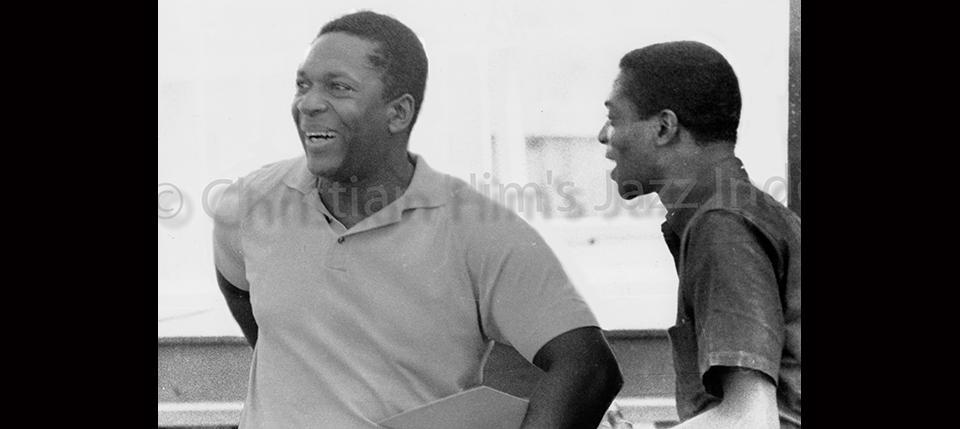 John Coltrane & Jimmy Garrison